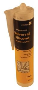 Wolseley Own Brand Center universal silicone 300 ml Clear
