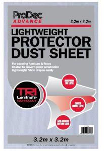 Rodo light protect dust sheet 3.2 x 3.2mtr