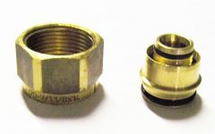 Uponor MLCP compression adaptor brass 20x22mm