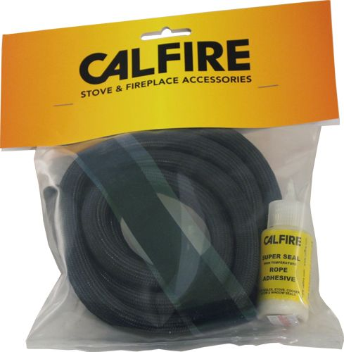 Black Overbraid Rope Seal Pack (With 80Ml Super Silicone) 13Mm X 2M