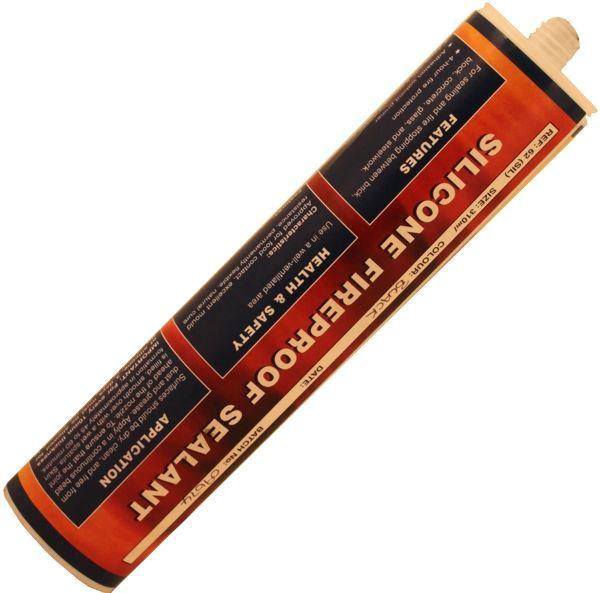 Heat Resistant Silicone Sealant - Black 1200C 310Ml Cartridge
