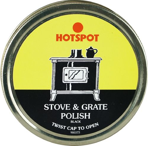 Hotspot Black Stove & Grate Polish (Box Of 6) 170G Tin