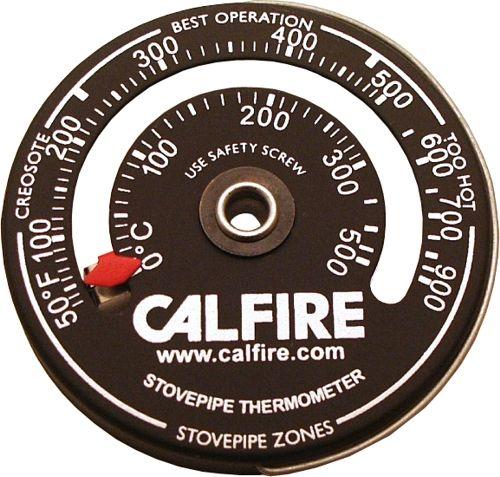 Calfire Stovepipe Thermometer 63Dia.