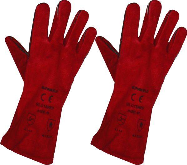Heat Resistant Gloves (Pair) Red