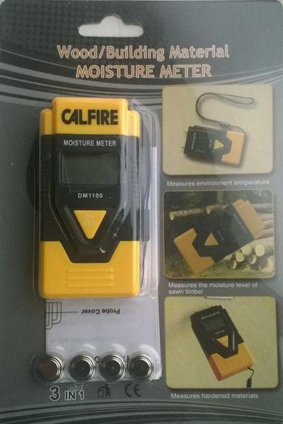 Calfire Digital Moisture Meter 2 Pin