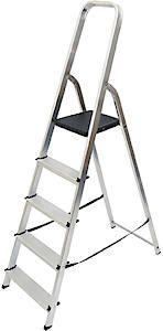 High Handrail Stepladder 5 Tread