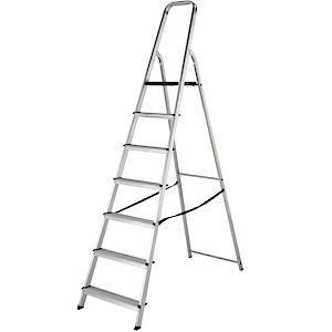 High Handrail Stepladders 7 Tread