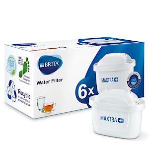 Brita Maxtra+ Water Filter Cartridge 6 Pack
