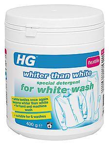 407 - Hg Whiter Than White Deter 400G