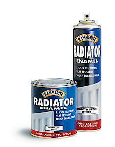 HAMM Radiator ENML AERO Satin White 400ML