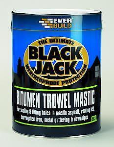 903 Bitumen Trowel Mastic - 1L