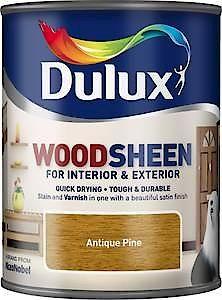 Du Int/Ext W/B W/Sheen Golden Teak 750Ml