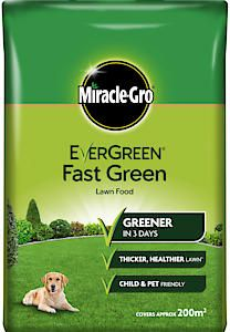 Miracle-Gro Fast Green Lawn Feed 200M2