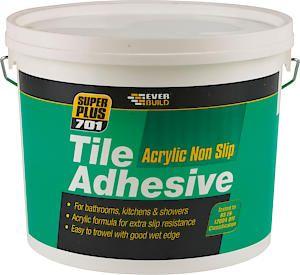 701 Non Slip Tile Adhesive 3.75Kg White