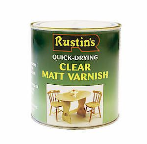 Quick Dry Varnish Matt Clear 250Ml