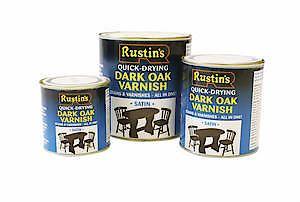 Quick Dry Varnish Satin Teak 250Ml