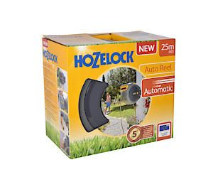 Hozelock 25M Auto Reel + Gun 2402 8019