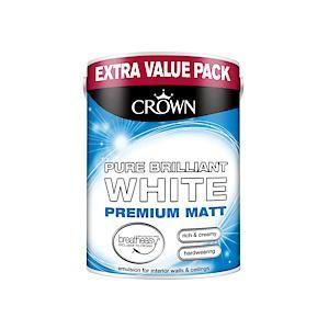 Crown Breatheasy Matt Emulsion - 3 Litre - Pbw