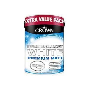 Crown Breatheasy Matt Emulsion - 6 Litre - Pbw
