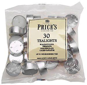 White Tealight  Bag Of 30