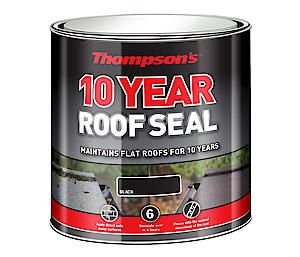 Thompsons 10 Year Roof Seal Black 1L