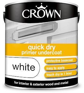 Crown Quick Dry Undercoat 2.5Litre