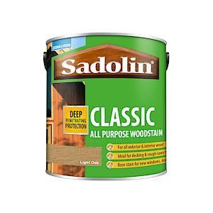 Sad Clas Wood Prot 2.5 Light Oak