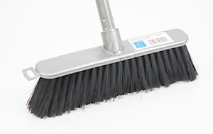 Soft Silver Indoor Broom And Handle