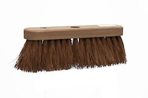 Castle Dale 10 Natural Coco Broom Head With Hole