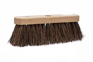 Castle Dale 10 Natural Bassine Broom Head With Hole
