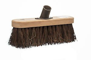 Castle Dale 10 Natural Bassine Broom Head With Plastic Socket