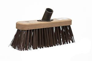 Castle Dale 10 Stiff Synthetic Broom Head With Plastic Socket