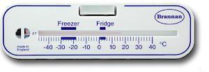 Horiz Fri/Freezer Thermometer Celsius Only