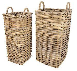 Rattan Basket Marriott - Set Of 2