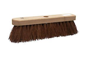 Castle Dale 12 Natural Coco Broom Head With Hole