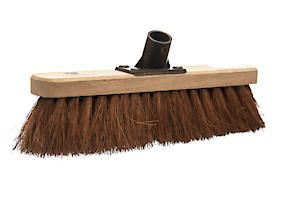 Castle Dale 12 Natural Coco Broom Head With Plastic Socket