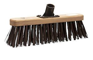 Castle Dale 12 Stiff Synthetic Broom Head With Plastic Bracket