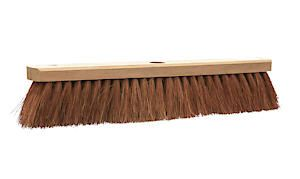 Castle Dale 18 Natural Coco Broom Head With Hole