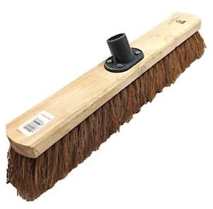 Castle Dale 18 Natural Coco Broom Head With Plastic Socket