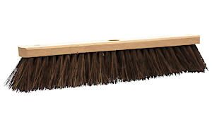 Castle Dale 18 Natural Bassine Broom Head With Hole