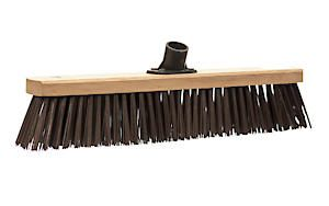 Castle Dale 18 Stiff Synthetic Broom Head With Plastic Socket