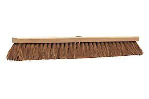 Castle Dale 24 Natural Coco Broom Head With Hole