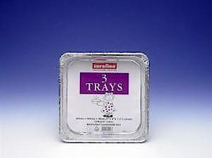 Foil Tray 60Oz X3 Cp9