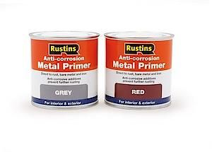 Anti-Corrosion Metal Primer Red 500Ml