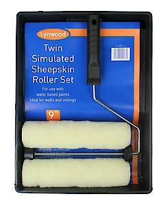 9 Roller &Tray +Free Sleeve