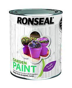Garden Paint Black Bird 750Ml
