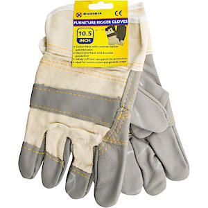 Rigger Glove Leather /Cot 63009C