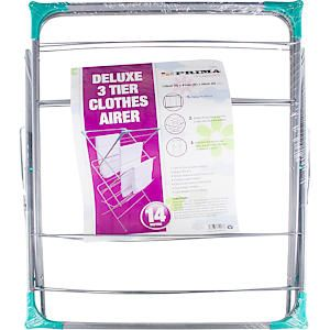 Deluxe 3 Tier Clothers Airer Concentrinar (14