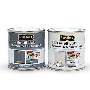 Small Job Primer & Undercoat - White 250Ml
