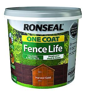 One Coat Fence Life Forest Green 5L